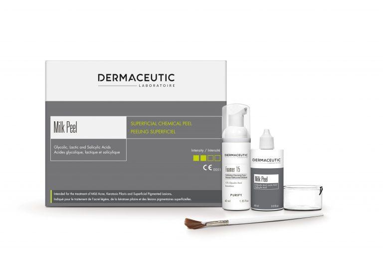 Milk peel huidtherapie wassenaar leiden voorschoten pigment keratosis pilaris